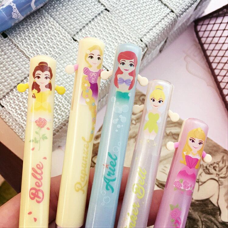 PGS7 日本迪士尼系列商品 - 迪士尼 公主 系列 造型 雙色原子筆 原子筆 雙色筆 筆【SHJ6429】