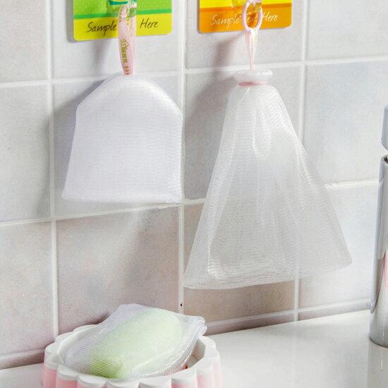 ?MY COLOR?肥皂起泡網(1號&2號) 泡沫 廚房 浴室 洗手間 洗臉 洗手 洗澡 瀝乾 瀝水【S02-2】