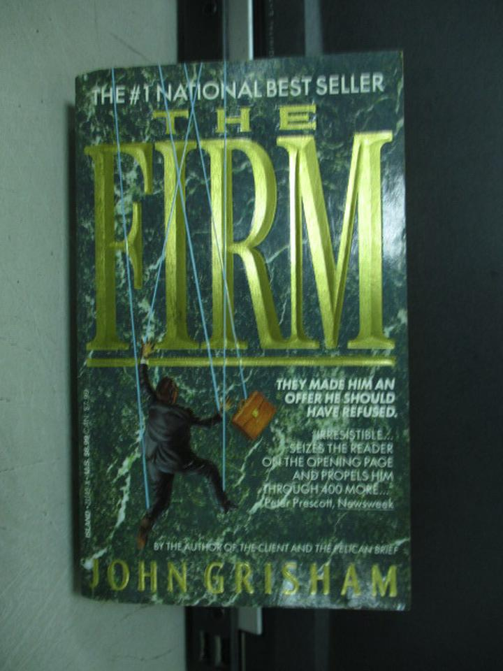 ~書寶 書T5/原文小說_KAM~The Firm_John Grisham