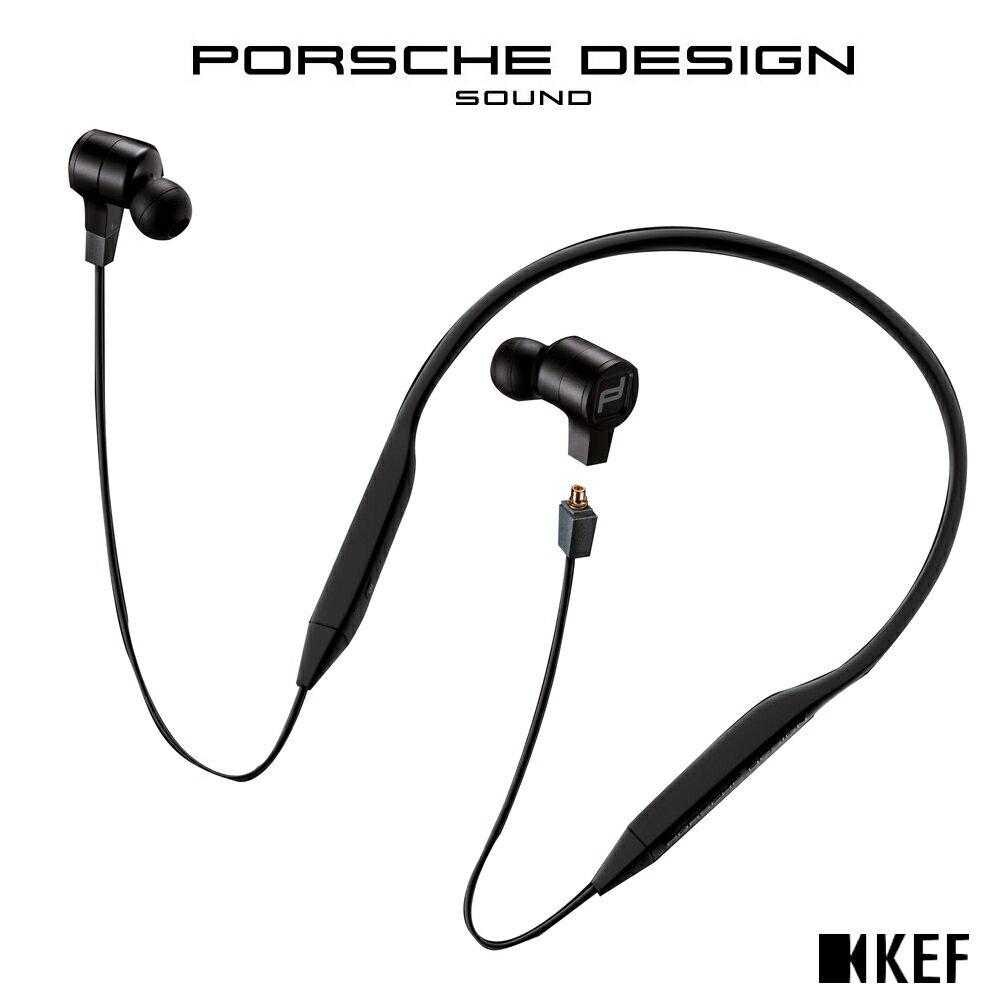 ◤官網登錄 限時贈送 造型隨身碟◢ ★Porsche Design聯名款★英國 KEF 聯名款 MOTION ONE【純黑色】藍牙入耳式耳機