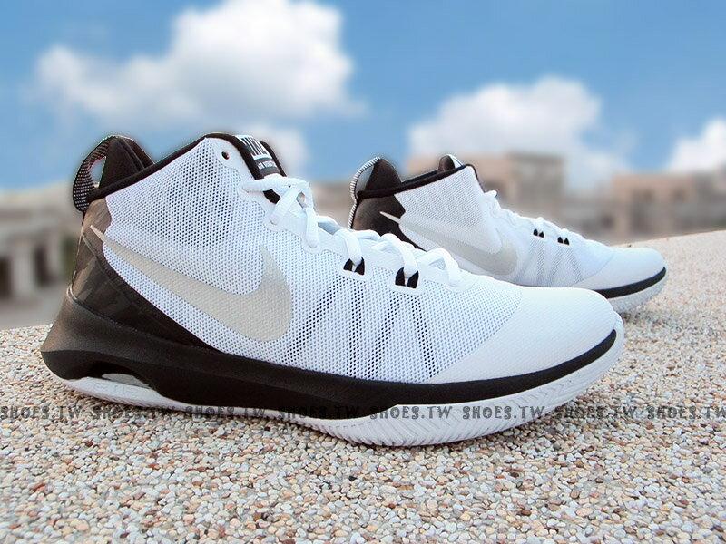 《超值6折》Shoestw【852431-100】NIKE AIR VERSITILE 籃球鞋 中筒 白黑