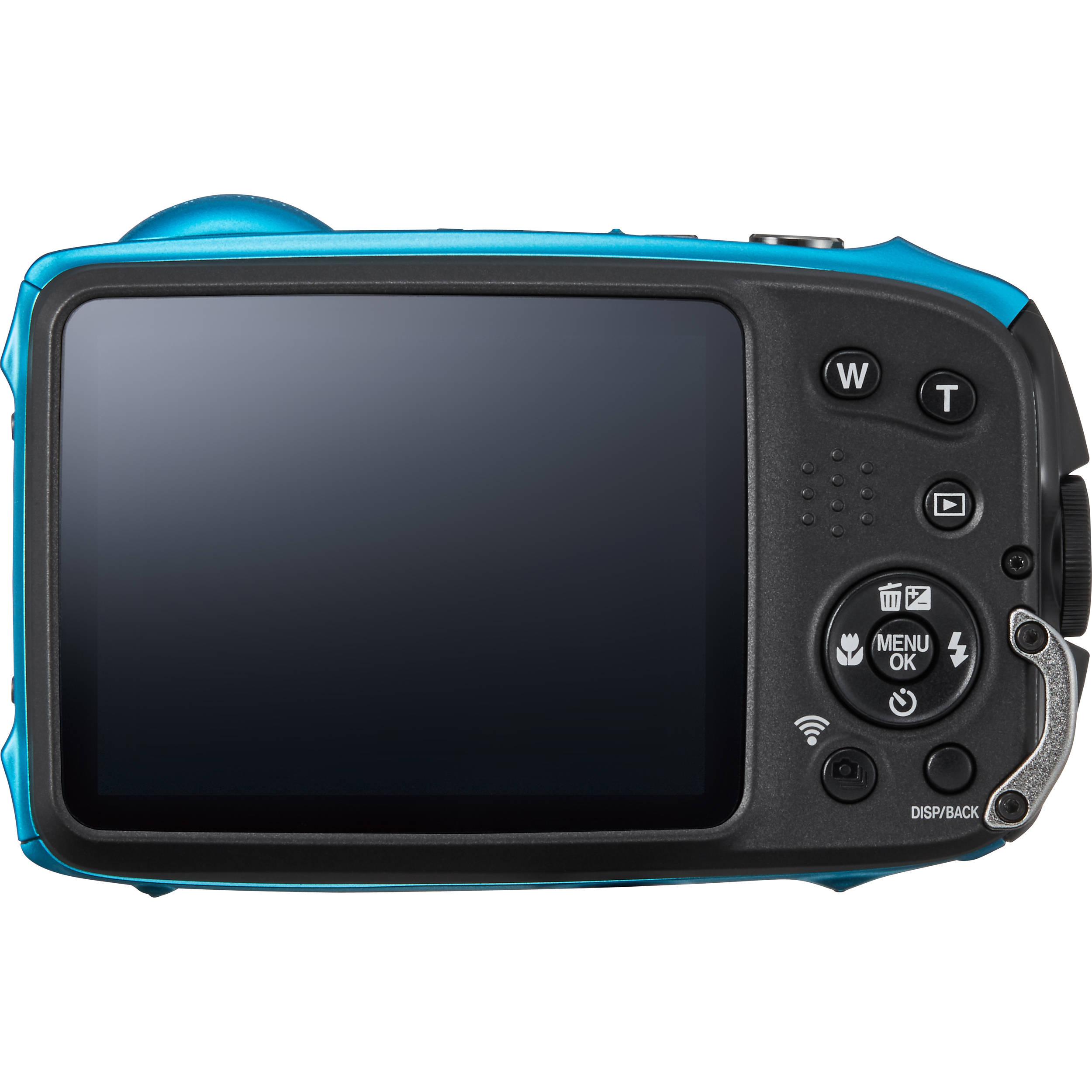 6ave Electronics: Fujifilm FinePix XP120 Digital Camera (Sky Blue) 600019758 + 16GB SDHC Class