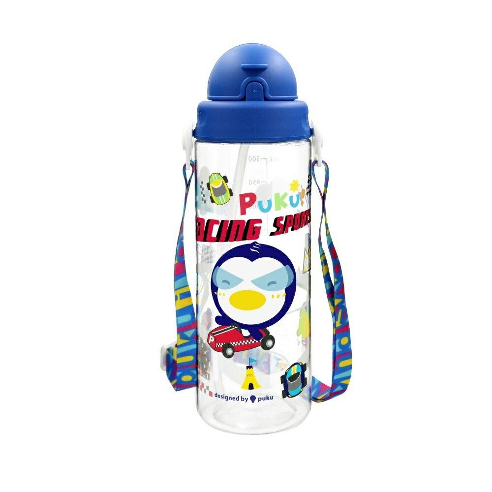 PUKU藍色企鵝 - Tritan滑蓋水壺 500ml 2