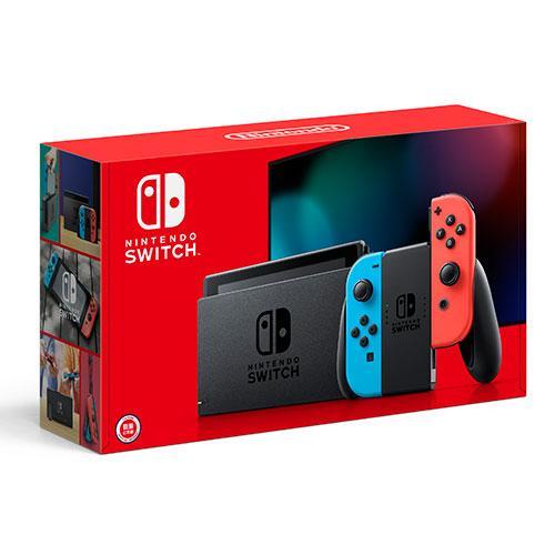 預購-2019款 Nintendo Switch新款主機-紅藍手把【愛買】 - 限時優惠好康折扣