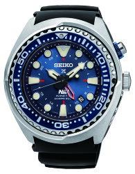 SEIKO 精工 Prospex PADI GMT 潛水200米聯名款 深海藍 5M85-0AB0B (SUN065P1) 48mm