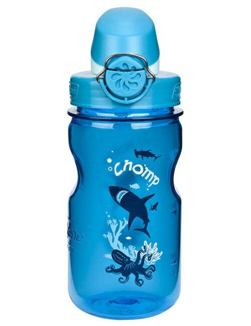 【鄉野情戶外專業】Nalgene |美國| OTF 兒童運動型水壼《灰藍色》/水瓶 隨身水壺 無雙酚A/1263-0002 【容量375ml】