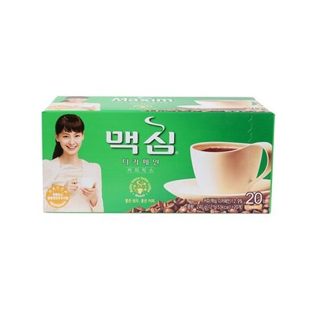 韓國 DongSuh Maxim 三合一即溶咖啡(低咖啡因) 240g