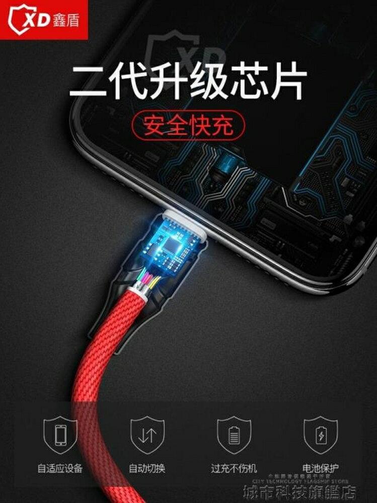 安卓數據線數據線安卓vivo閃充高速手機通用快充原裝r9魅族三星單頭充電器線usb 清涼一夏特價