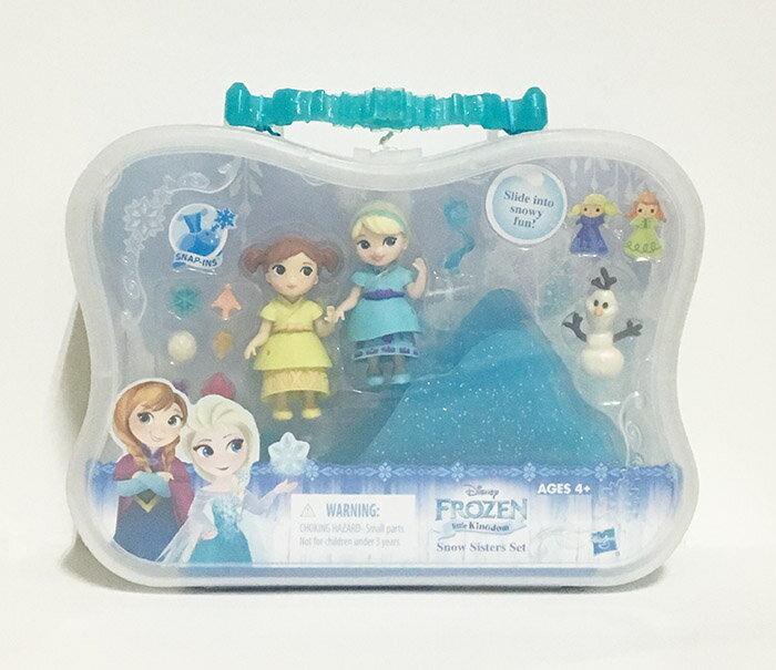 《★代購★美國 Hasbro 孩之寶》Frozen 冰雪奇緣迷你公主及情境組- 小孩組 美國代購 溫媽媽