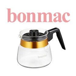 【日本】Bonmac 金邊耐熱玻璃手沖咖啡壺(約500ml)