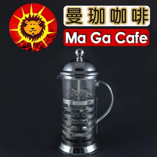 【曼珈咖啡】寶馬 全柄濾壓壺 350ml 0
