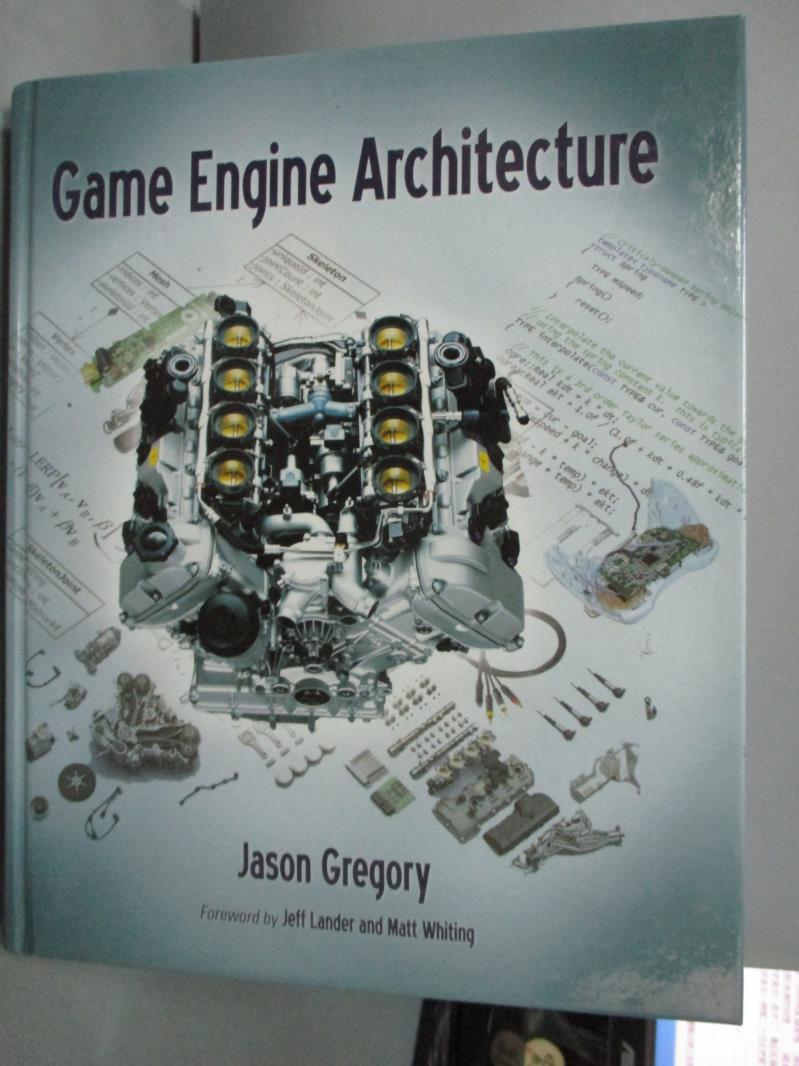 ~書寶 書T1/電腦_QHW~Game Engine Architecture_Grego