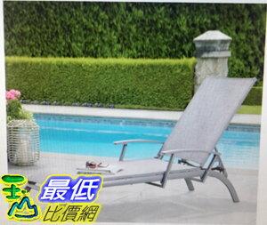 [COSCO代購]W1031547商業戶外鋁製躺椅