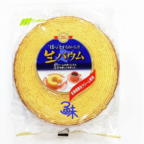 **無貨 勿下單**(日本) Marukin 丸金 厚切年輪蛋糕 1個 310公克 特價 125 元 【4978323900054 】( 鮮奶年輪蛋糕 )