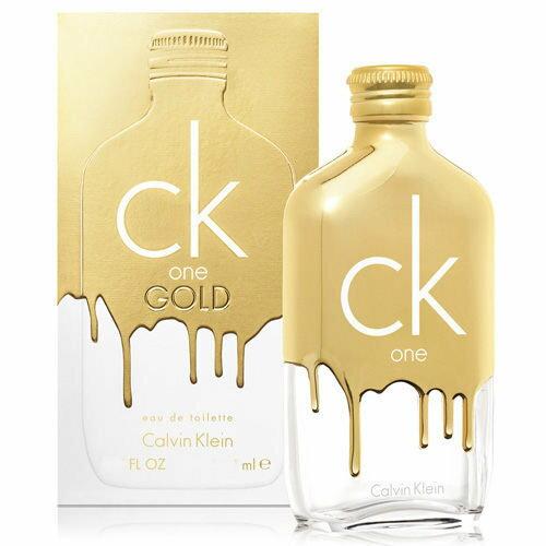 Calvin Klein卡文克萊 ck one gold 100ml【櫻桃飾品】 【24674】