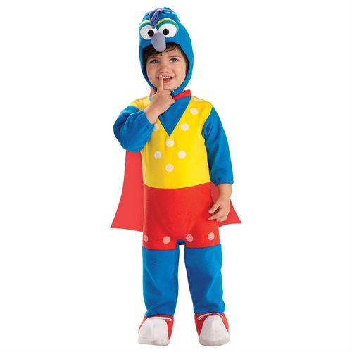 The Muppets Romper Gonzo Costume Baby 0-9 Months 0