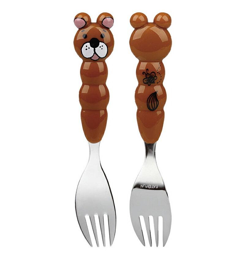 『121婦嬰用品館』EAT4FUN 兒童餐具動物園 叉子 - 小熊 0