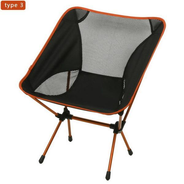 Camp Chair Ground Lightweight and Durable Construction Outdoors Garden 1