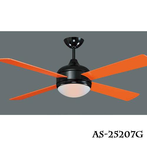 工業風系列★繽紛樂52吋LED18W吊扇燈風扇燈橘白黃綠★永光照明AS-25207~10G