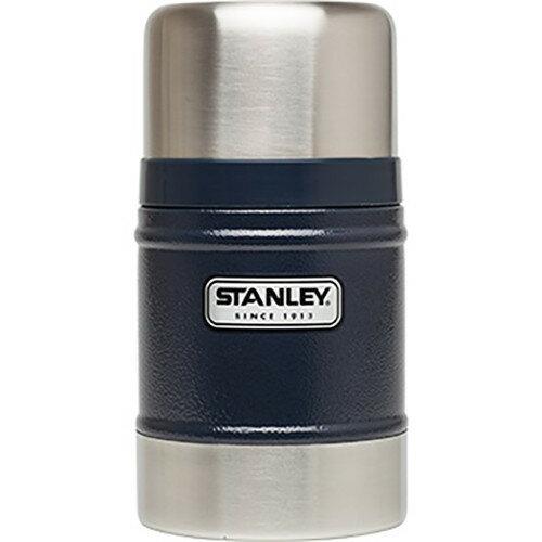 【鄉野情戶外專業】 Stanley |美國| 經典系列真空保溫食物罐/食物保溫罐-藍/10-00131 【502ml】
