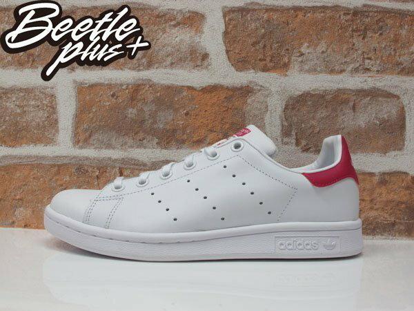 BEETLE PLUS ADIDAS ORIGINALS STAN SMITH 白桃紅 皮革 復古 休閒運動鞋 女鞋 AQ3499 B32703 0