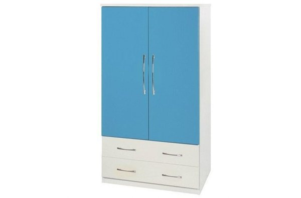 【石川家居】825-06(藍白色)衣櫥(CT-106)#訂製預購款式#環保塑鋼P無毒防霉易清潔