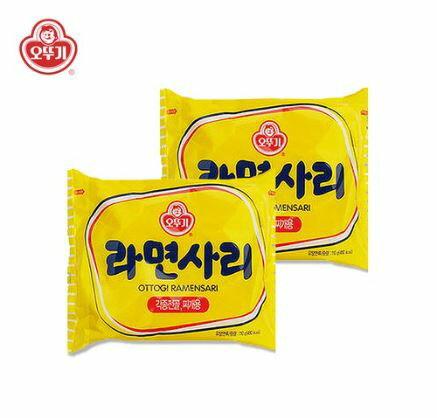 韓國 不倒翁(OTTOGI) Q拉麵(純麵條) 110g-單包販售