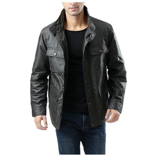BGSD Men's City Waterproof Raincoat Jacket acd90a23ae0ede50268c1586c76328fe