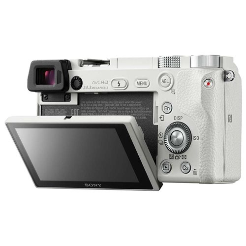 """Sony alpha a6000 24.3 Megapixel Mirrorless Camera with Lens - 16 mm - 50 mm - Silver - 3"""" LCD - 16:9 - 3.1x Optical Zoom - 4x - Optical (IS) - 6000 x 4000 Image - 1920 x 1080 Video - HDMI - HD Movie Mode - Wireless LAN 2"""