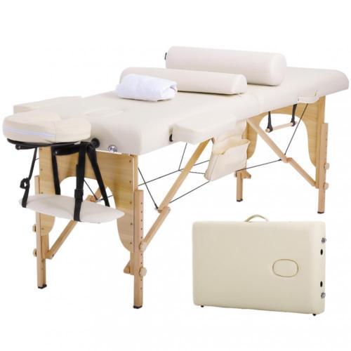 Merveilleux Massage Table Massage Bed Spa Bed 73 Height Adjustable Cradle Portable  Massage
