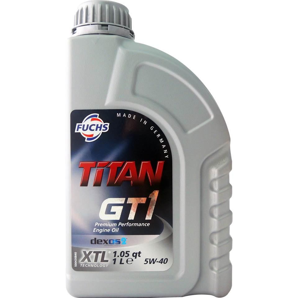 福斯 Fuchs TITAN GT1 5W40 C3 SN/CF 長效全合成機油 汽柴油引擎機油 XTL精煉技術