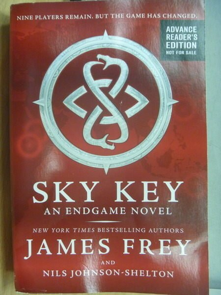 ~書寶 書T4/原文小說_YCJ~Sky Key an Endgame novel_Jam
