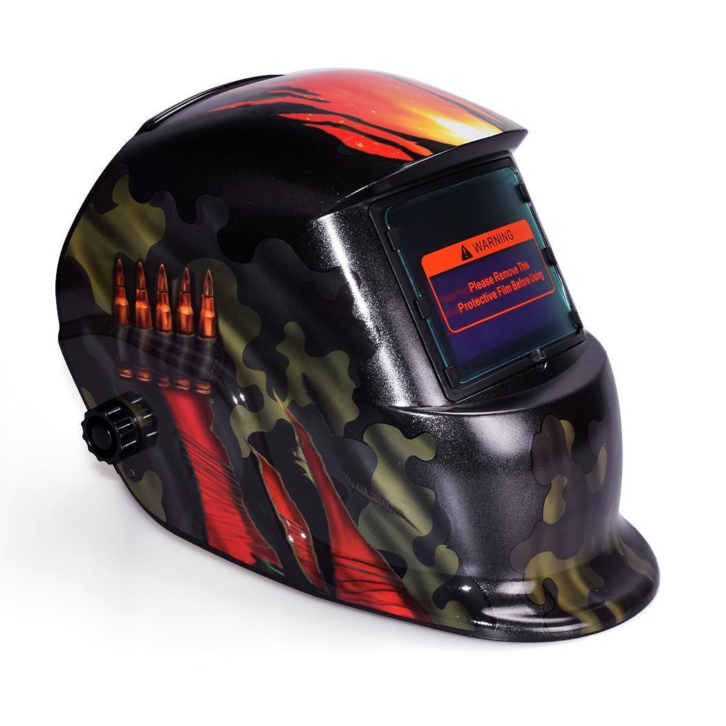 Arc Tig Mig Auto-Darkening Welding Solar Helmet Mask 1