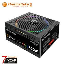 Tt 曜越 Smart Pro RGB 750W 銅牌認證 全模組 電源供應器【三井3C】