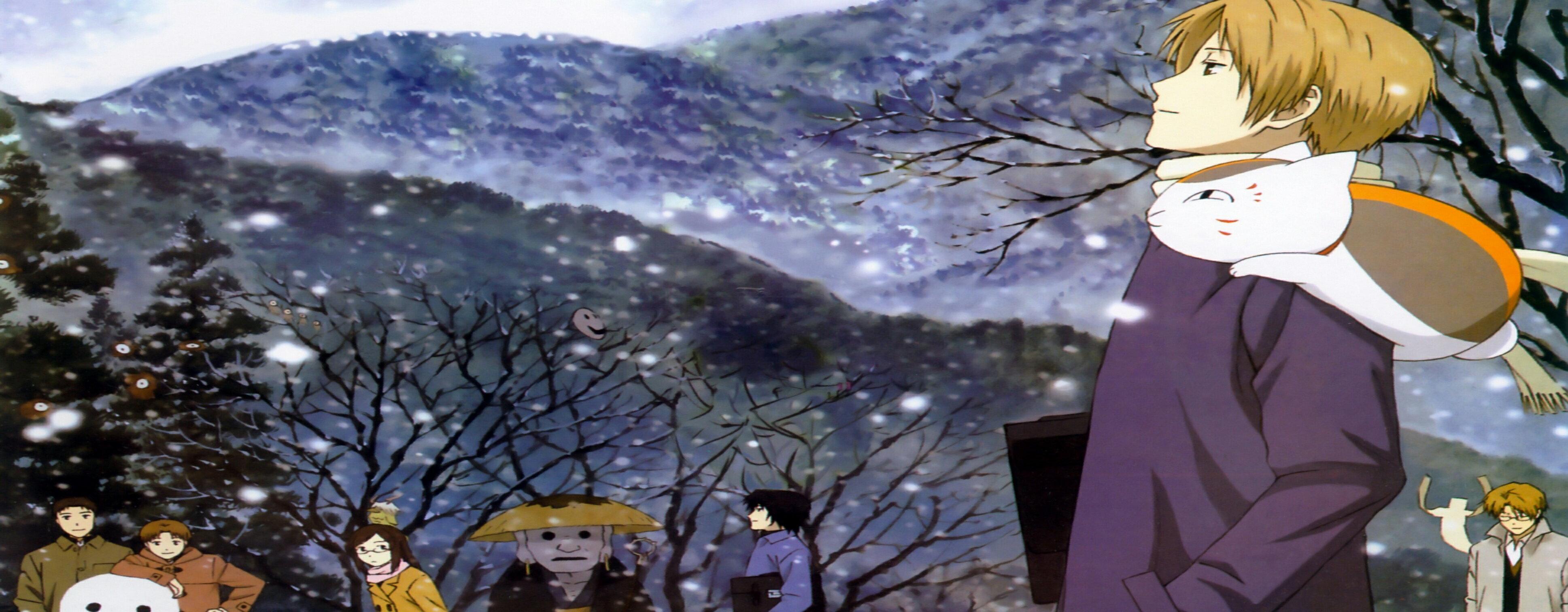 【憶童趣】動漫 夏目友人帳 創意超大滑鼠墊 80x30