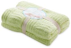 【淘氣寶寶】奇哥 立體格紋柔舒毯(大-100×140公分)(綠色) 【奇哥正品】