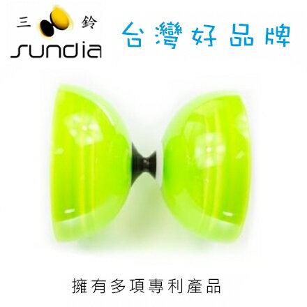 SUNDIA 三鈴 炫風單培鈴系列 SH.1B.CG炫單透綠 / 個
