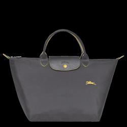 LONGCHAMP  1623  女士女包 LE PLIAGE COLLECTION系列桃粉色织物中号短柄可折叠手提包 1623 089 B49