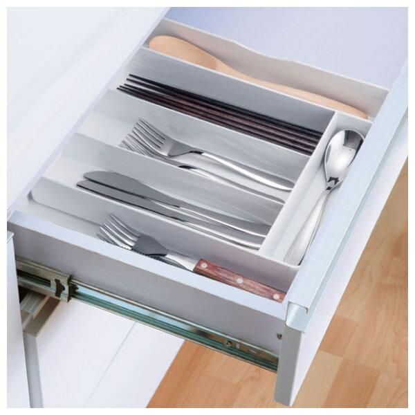 伸縮餐具整理盒 橫式 PBRAN NITORI宜得利家居 0