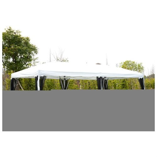Outsunny 10u0027 x 20u0027 Pop-Up Canopy Shelter Party Tent w/ Mesh  sc 1 st  Rakuten.com & Aosom | Rakuten: Outsunny 10u0027 x 20u0027 Pop-Up Canopy Shelter Party ...