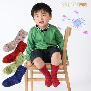 靴下屋Tabio星星圖案童襪19-21cm