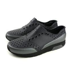 native LENNOX BLOCK 懶人鞋 洞洞鞋 男鞋 黑色 11105002-8597 no823