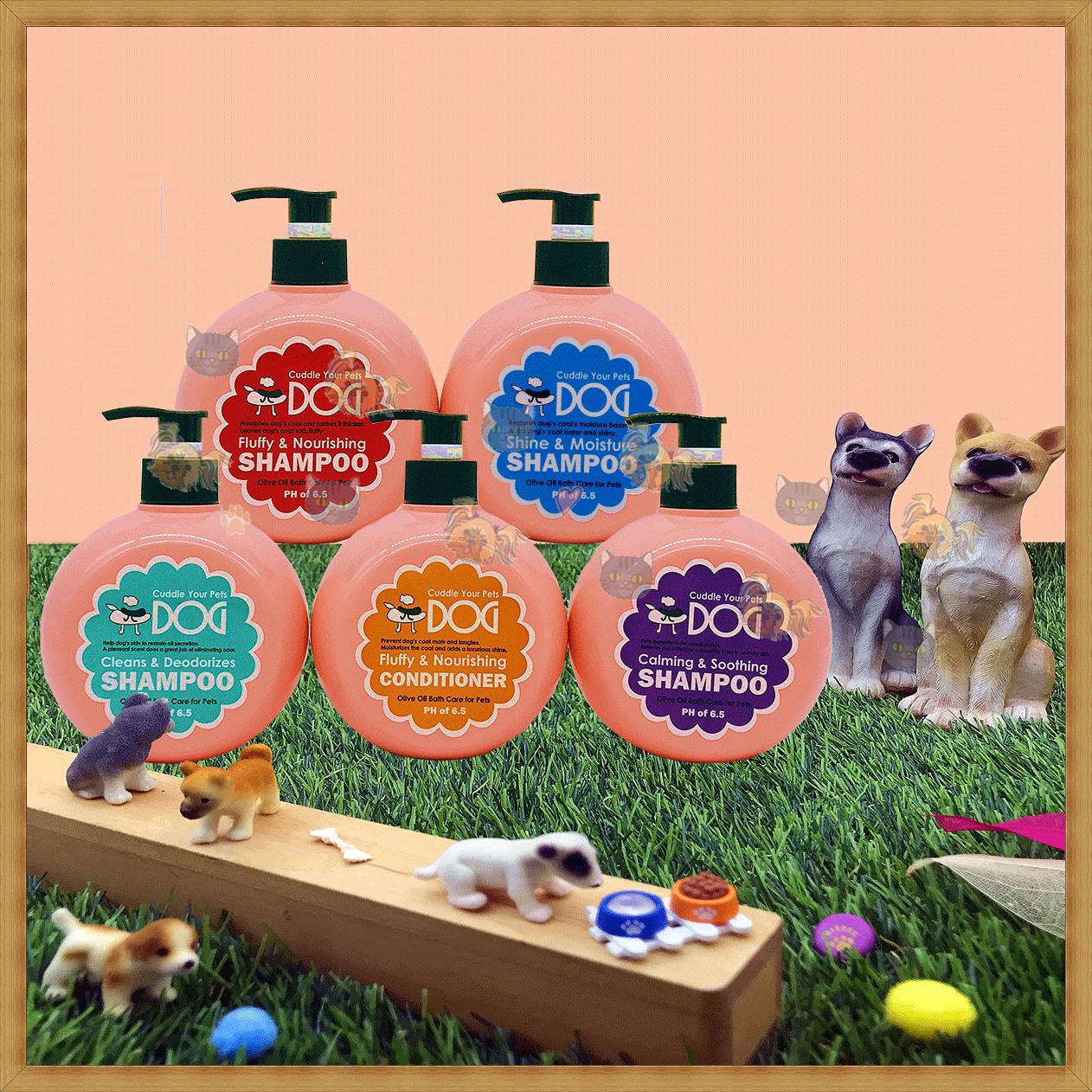♥珍寵♥ 拍拍狗 橄欖油氧系列-雙重護 420ml 5種機能 皮膚調理 護毛抗靜電 犬貓適用 1