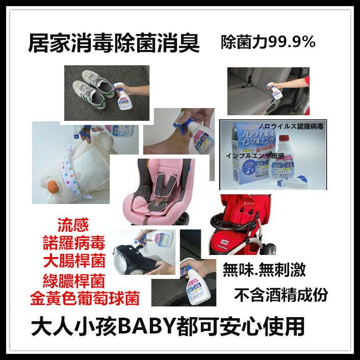 隨時噴讓病菌out安全無毒性 / 抗菌、消毒、除臭多功能合一強力除菌消臭液 6