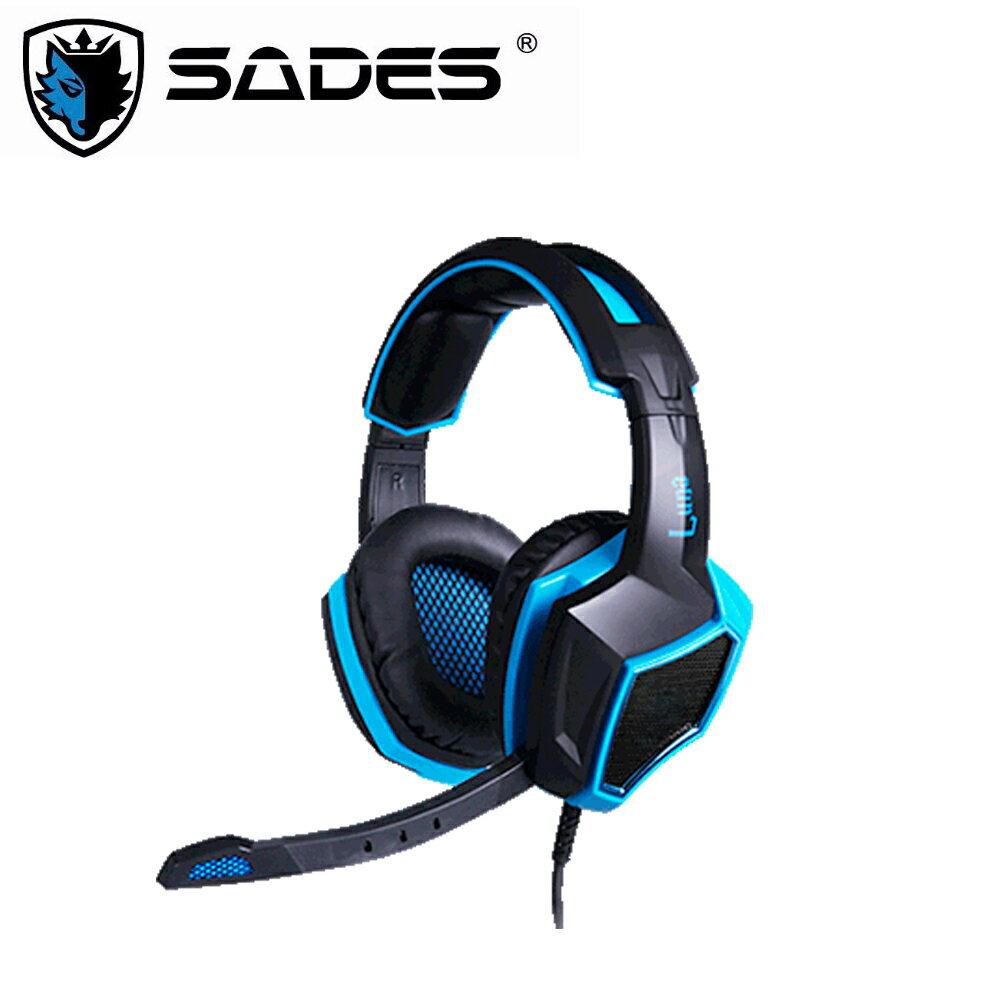 【DR.K 3C】SADES LUNA 狼月 電競耳麥 7.1 (USB)