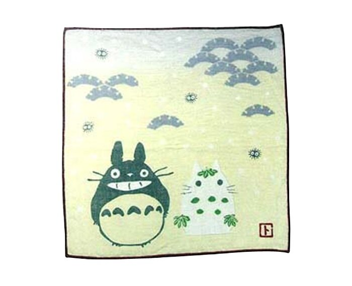 【真愛日本】7042300003 日本製四季紗布小方巾-和風雪人 龍貓 TOTORO 豆豆龍 毛巾 方巾 手帕