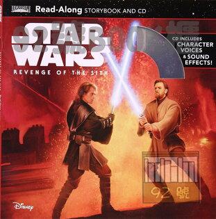 92號BOOK櫃-參考書專賣店:StarWars:RevengeoftheSith星際大戰三部曲:西斯大帝的復仇(CD有聲書)