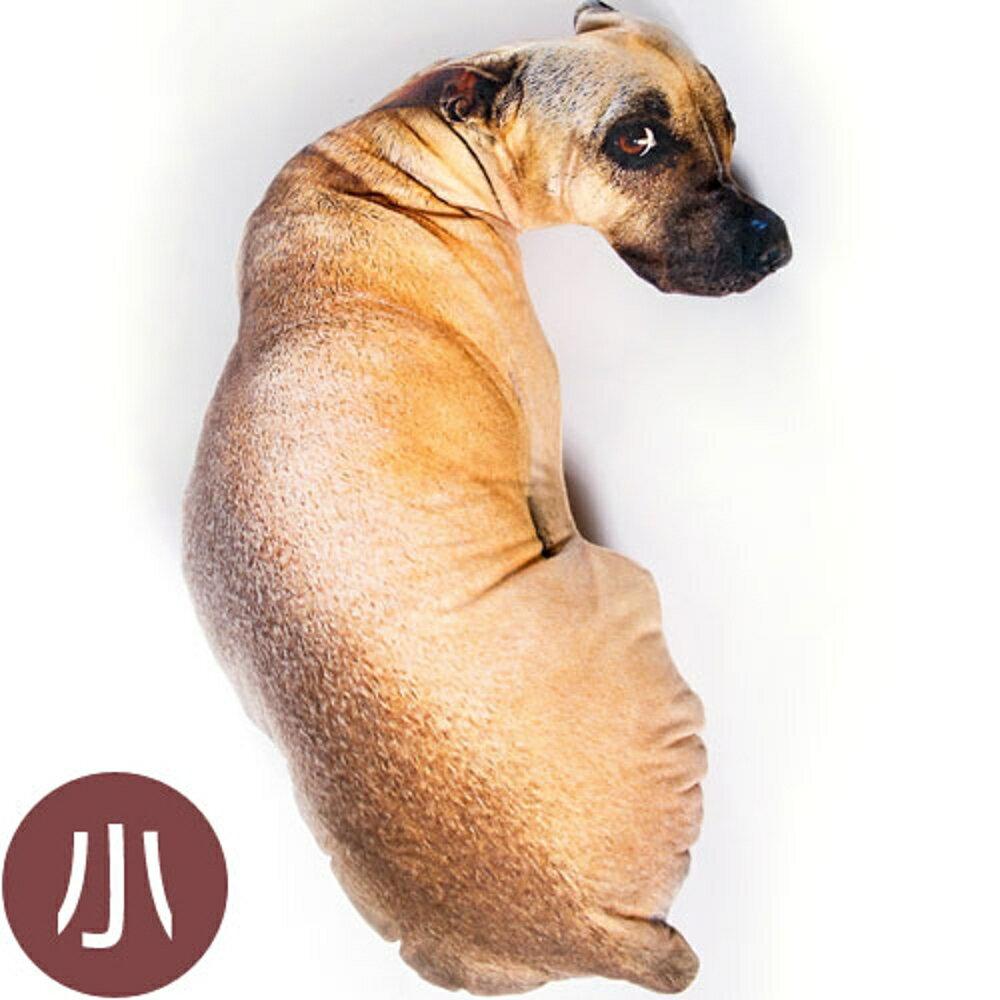 【WS16120602】 可愛創意擬真小狗造型個性抱枕 沙發靠墊 (小)