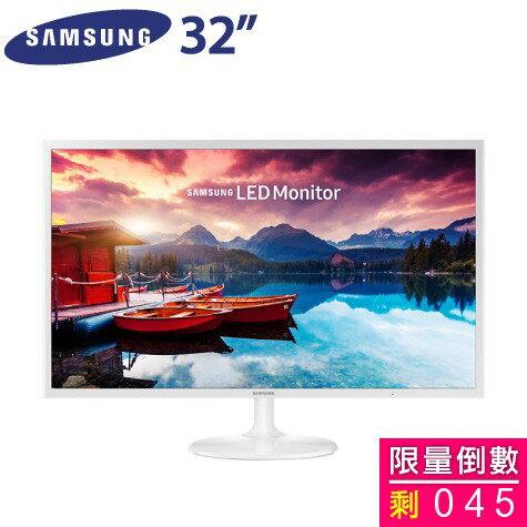 SAMSUNG 32吋 S32F351FUE/PLS LED/HDMI*2(極薄機身/AMD FreeSync/低藍光/零閃屏)  超美現貨~高畫質