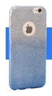 現貨APPLEIPHONE6PLUS6SPLUS5.5吋閃粉漸變全包手機軟套贈9H玻璃貼保護套IP6+IP6S+